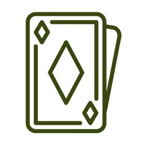 Cards illustration play on the best blackjack websites